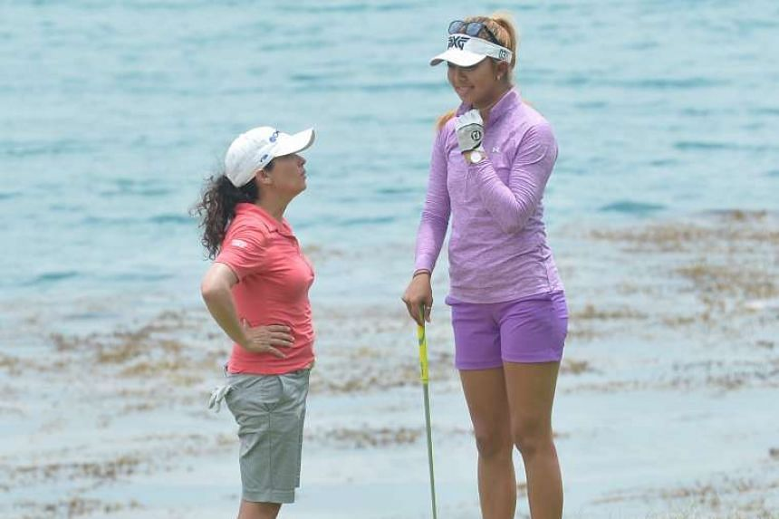 An age-gap of 13 years was not the only striking difference between Americans Mo Martin (left) and Alison Lee.