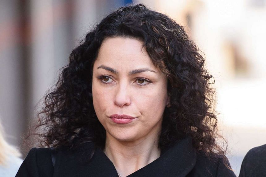 Former Chelsea team doctor Eva Carneiro arrives at Croydon Employment Tribunal in south London on March 7, 2016.