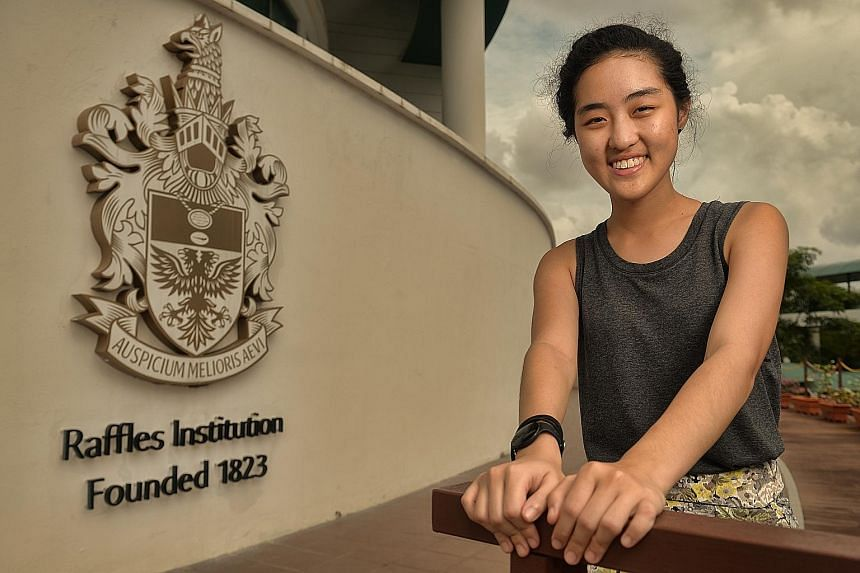 Shermaine Ng, 18, started working part-time while in school to help out with her family's finances. The former Raffles Institution student also found time to do community service and this desire to do more has led to her decision to pursue studies in