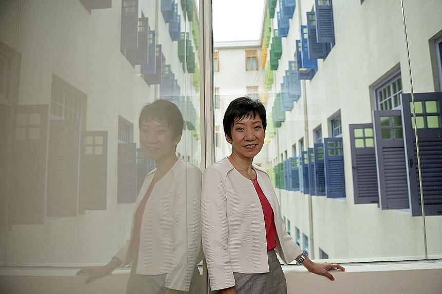 Culture, Community and Youth Minister Grace Fu said her No. 1 priority is to deepen Singaporeans' national pride and nurture a caring society. Pride in her being the nation's first woman minister with her own portfolio hardly entered her consciousnes