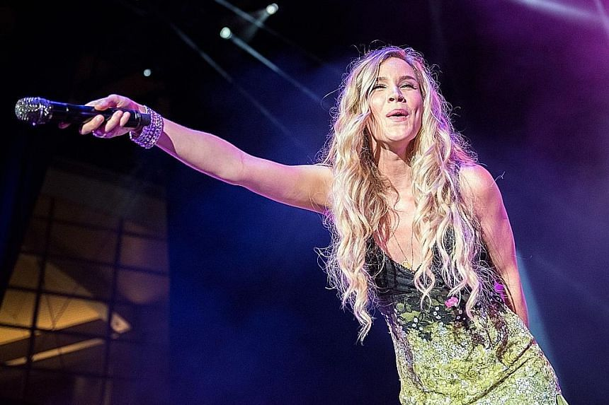 The chatty singer Joss Stone (above) came across as a best friend instead of an aloof celebrity.