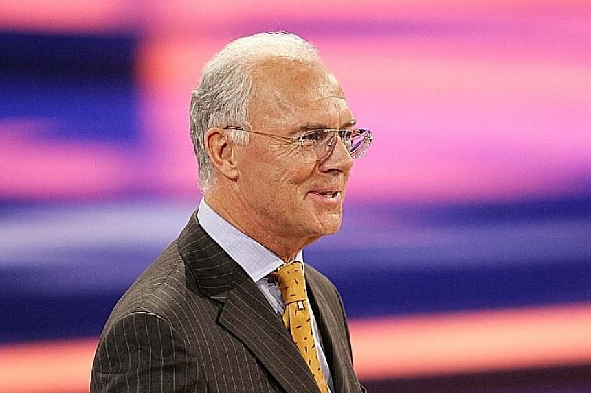 """Germany's Franz Beckenbauer said he only discovered last week that the """"money had gone to Qatar""""."""