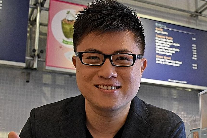 Mr Tay's company developed the popular transportation app, SG BusLeh.