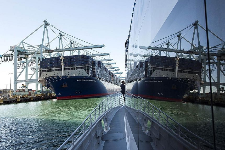 French shipping line CMA CGM - whose fleet boasts one of the world's largest container ships, the CMA CGM Benjamin Franklin - is in the midst of acquiring Neptune Orient Lines.