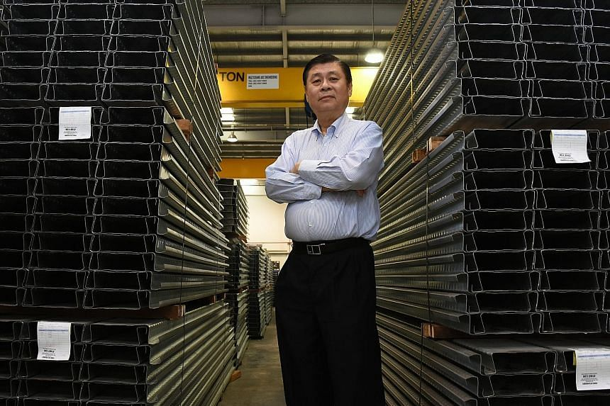M Metal's managing director John Kong says his priorities are to continue exploring ways to innovate and grow his business.