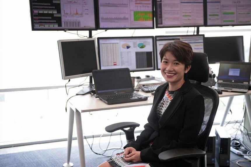Ms Jacqueline Poh, managing director of the Infocomm Development Authority (IDA).