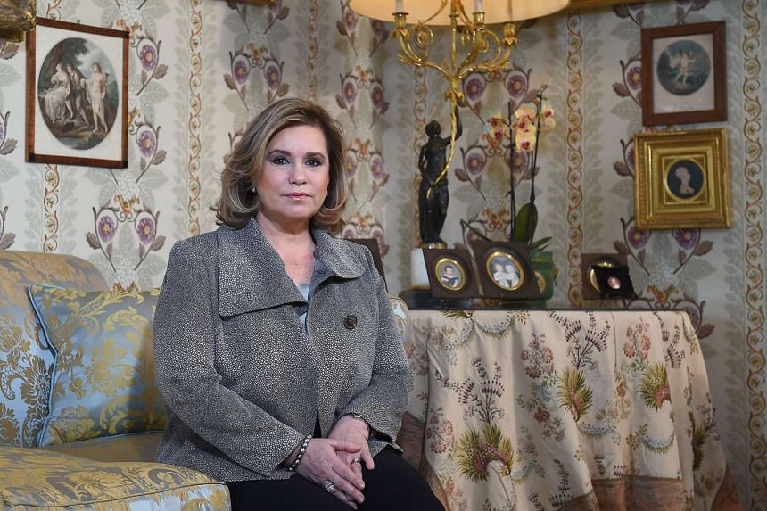Grand Duchess Maria Teresa of Luxembourg hopes to return to Cuba to pitch the cause of micro-credit to help the poor.