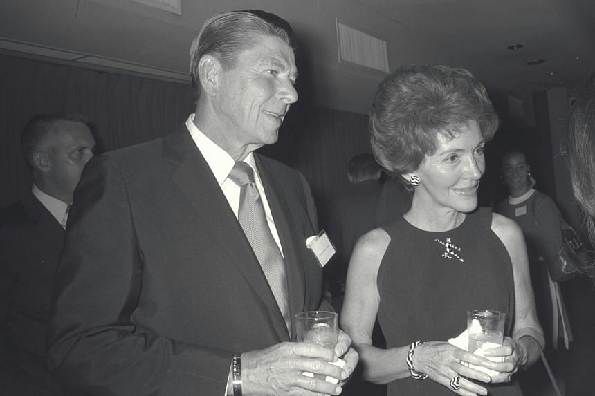 Nancy Reagan visited Singapore in 1971 with her husband Ronald Reagan, when he was the US special emissary to Asia before becoming president of the United States.