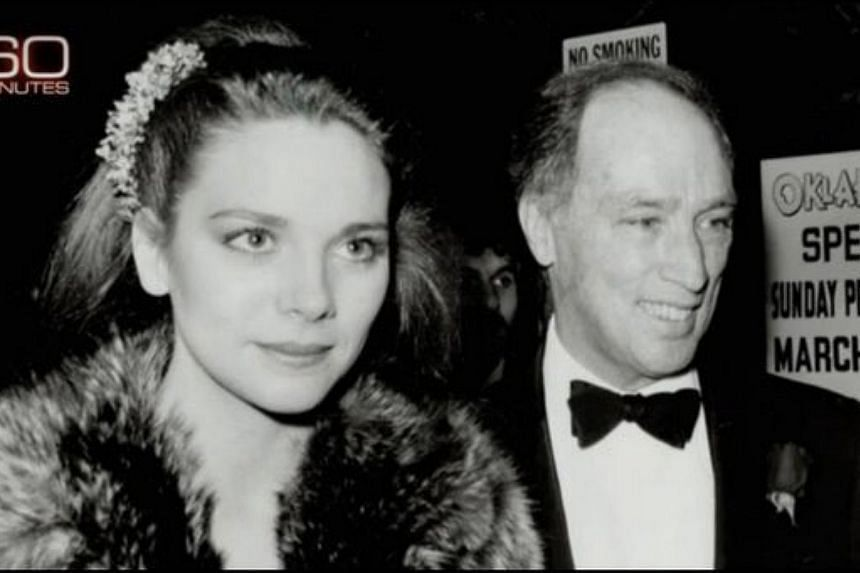 "The photo of actress Kim Cattrall and the late Canadian Prime Minister Pierre Trudeau which ""60 Minutes"" mistakenly used to show  the ""mother"" of Canada's current Prime Minister Justin Trudeau."