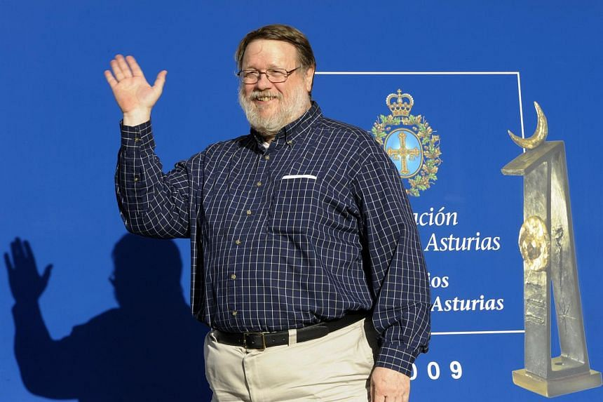 US programmer Ray Tomlinson arriving prior to the presentation of the Prince of Asturias awards in Oviedo Spain on Oct 22, 2009.