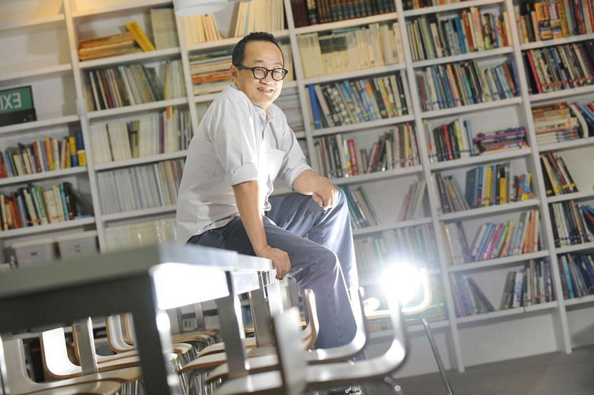 Mr Edmund Wee (above), founder of Epigram Books, is surprised that his five-year-old company was nominated.