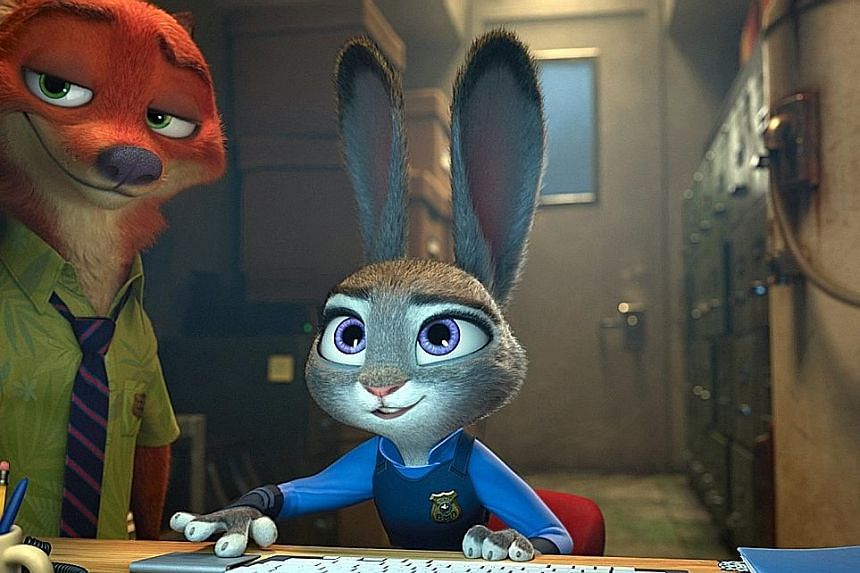 Zootopia (above) has earned $101.9 million in North America so far.