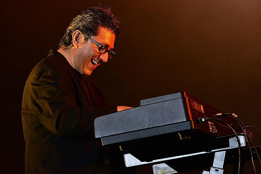 Mexican pianist Hector Infanzon delights with his soulful precision.