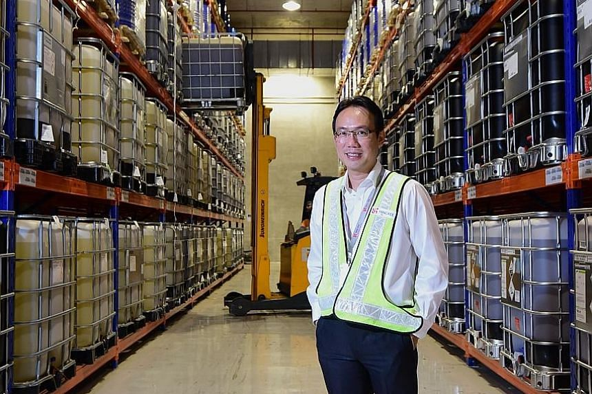 Mr Tobias Pinker, chief financial officer of Schulte Group, said leasing rates for ships barely cover operating expenses. Mr Ong Swee Keong, GM for contract logistics and transport at Yang Kee said the firm's transport business grew by about 5 per ce