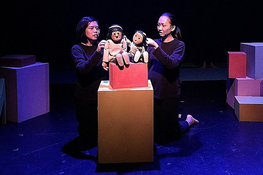 Samsui Women: One Brick At A Time by The Finger Players is among five nominees for Best Production for the Young.