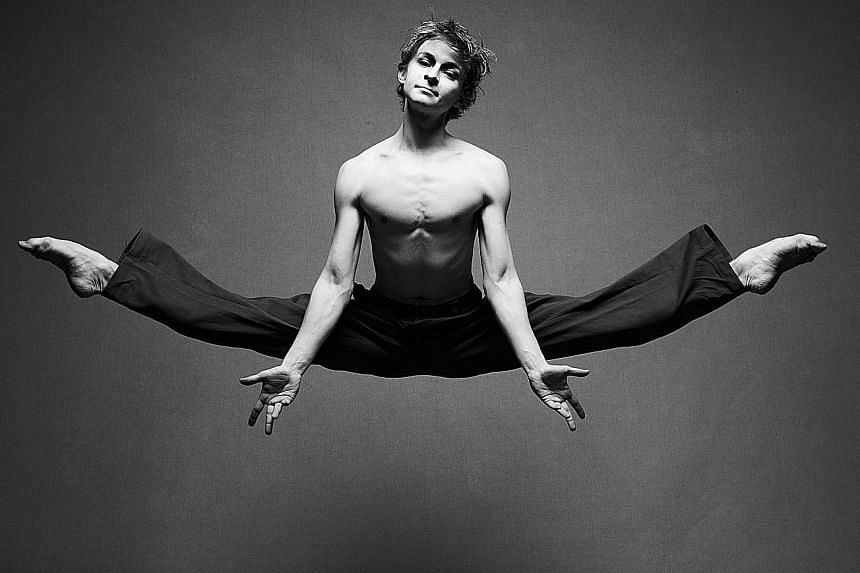 Ballet dancer Daniil Simkin (above) will be in Singapore next month for the three-day Superstars of Ballet show.