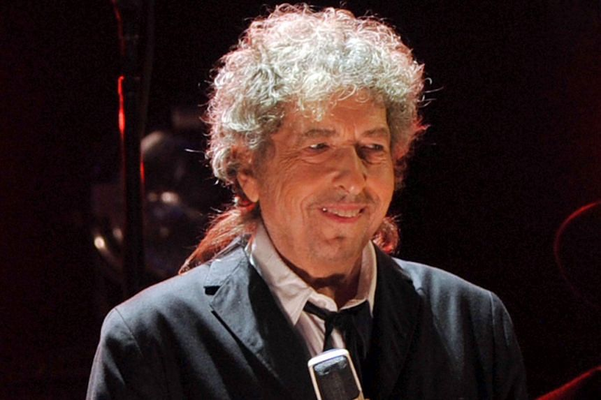 Bob Dylan performing onstage during the 17th Annual Critics' Choice Movie Awards, in Los Angeles, California, on Jan 11, 2012.
