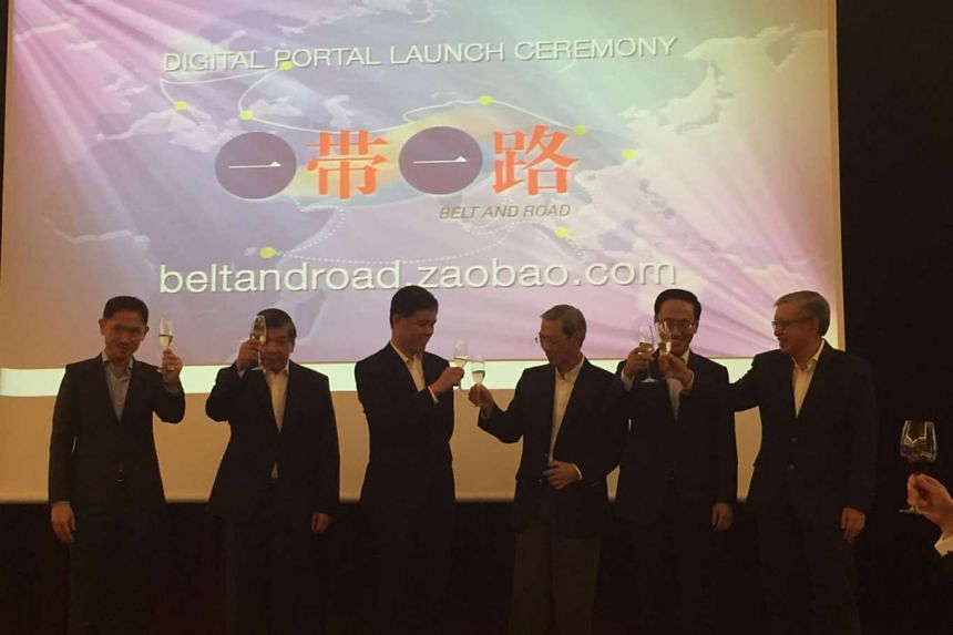 (From left) Mr Anthony Tan, executive vice-president of SPH's Chinese Media Group, Mr Teo Siong Seng, chairman of Singapore Business Federation, Mr Chan Chun Sing, Minister in the Prime Minister's Office and Secretary-General of the National Trades U