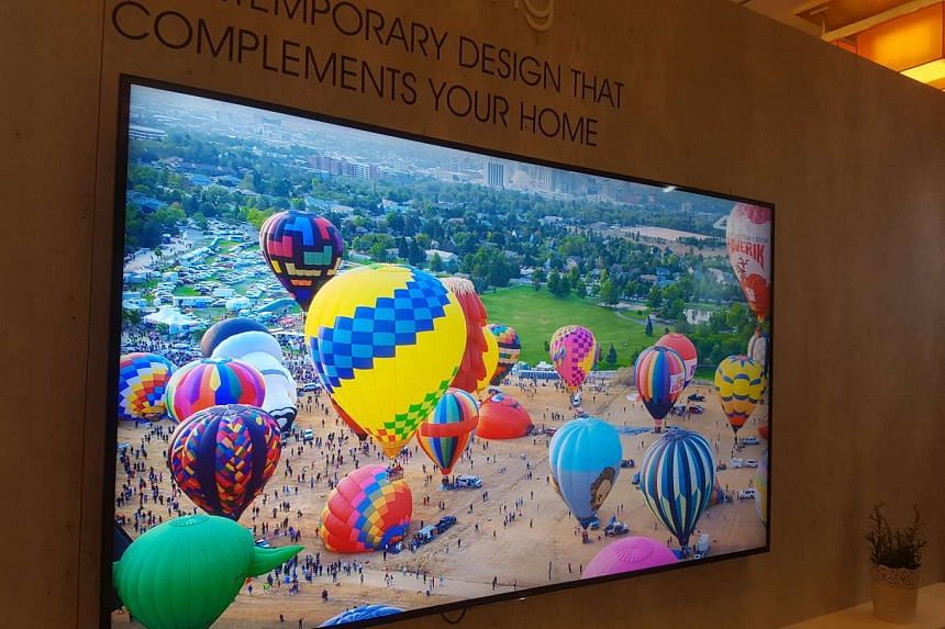 The new Sony 4K HDR TVs in Singapore.