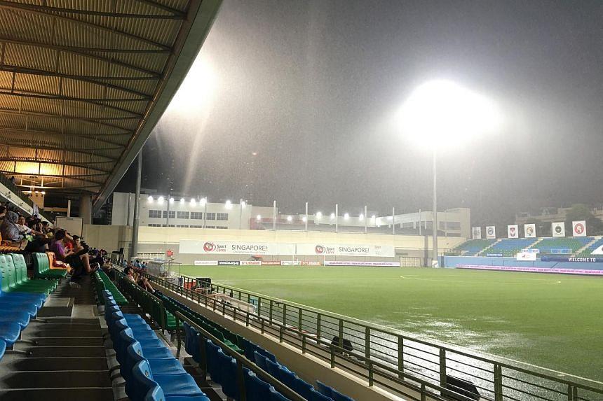 The match will be played at Jalan Besar Stadium.