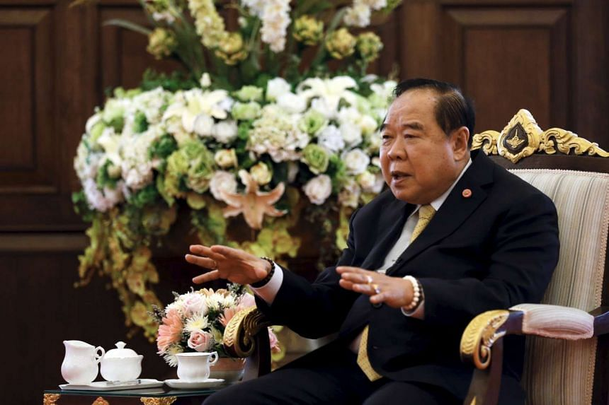 """Thailand's deputy prime minister General Prawit Wongsuwon stressed that the latest clampdown on """"influence"""" was aimed at criminals, not critics."""