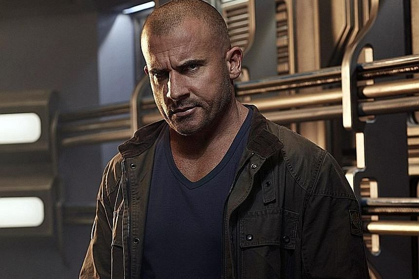 Dominic Purcell plays Heat Wave, an arsonist, in DC's Legends Of Tomorrow.