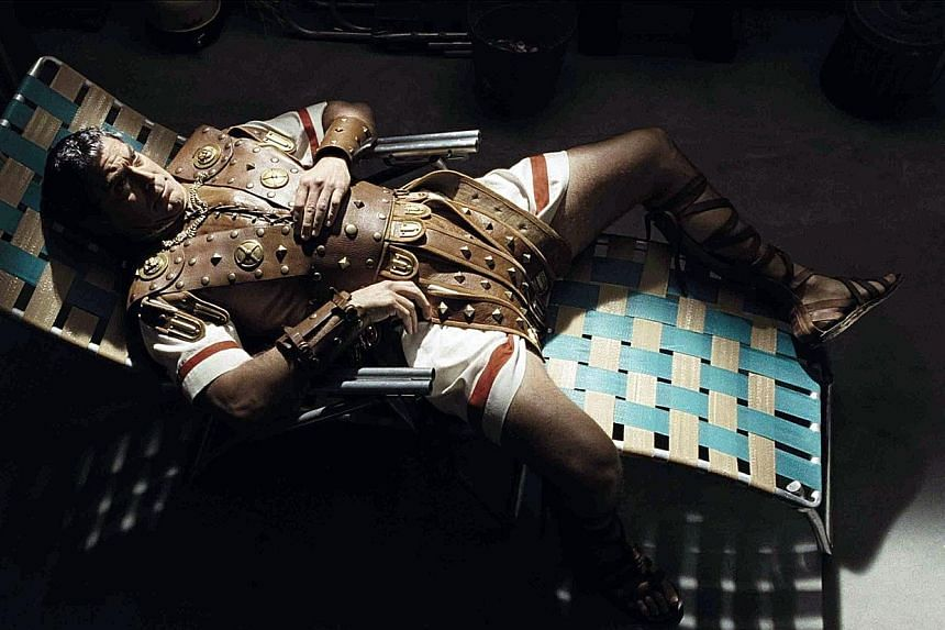 George Clooney as a matinee idol who vanishes during a shoot of the Bible spectacular in Hail, Caesar!