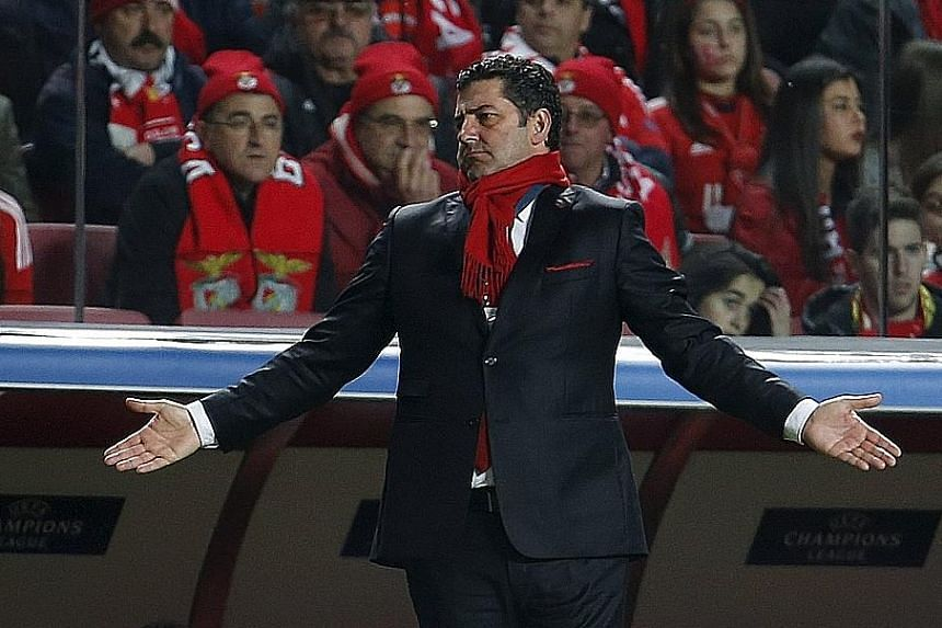 Benfica manager Rui Vitoria will have to shuffle his defence when he picks his team to face Zenit St Petersburg for a place in the Champions League quarter-finals, with three of his regular starting defenders and goalkeeper Julio Cesar sidelined.