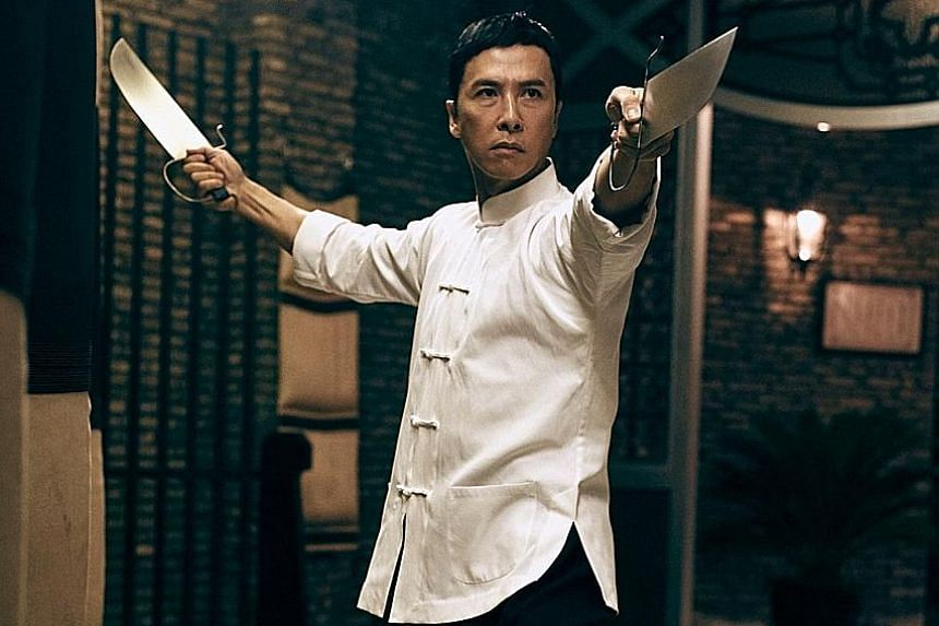 Ip Man 3, starring Donnie Yen, earned more than $106 million in four days.