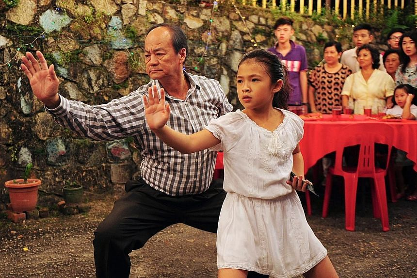 The Kid From The Big Apple stars Ti Lung and Sarah Tan (both above).