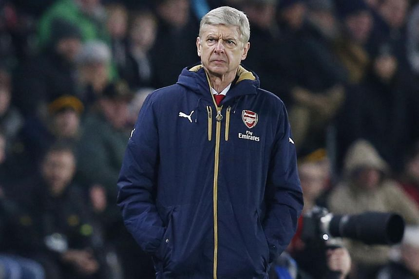 Arsene Wenger during the FA Cup football match between Hull City and Arsenal.