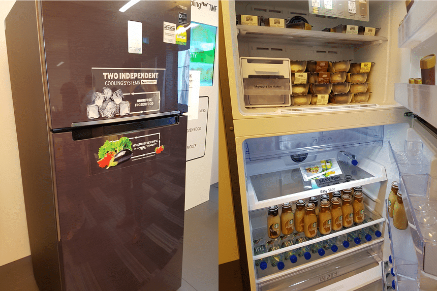 The new range of Twin Colling Refrigerators with 5-in-1 conversion modes from Samsung Singapore.