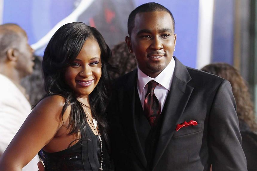 Bobbi Kristina Brown and boyfriend Nick Gordon arriving at the premiere of Sparkle in Hollywood, California, on Aug 16, 2012.