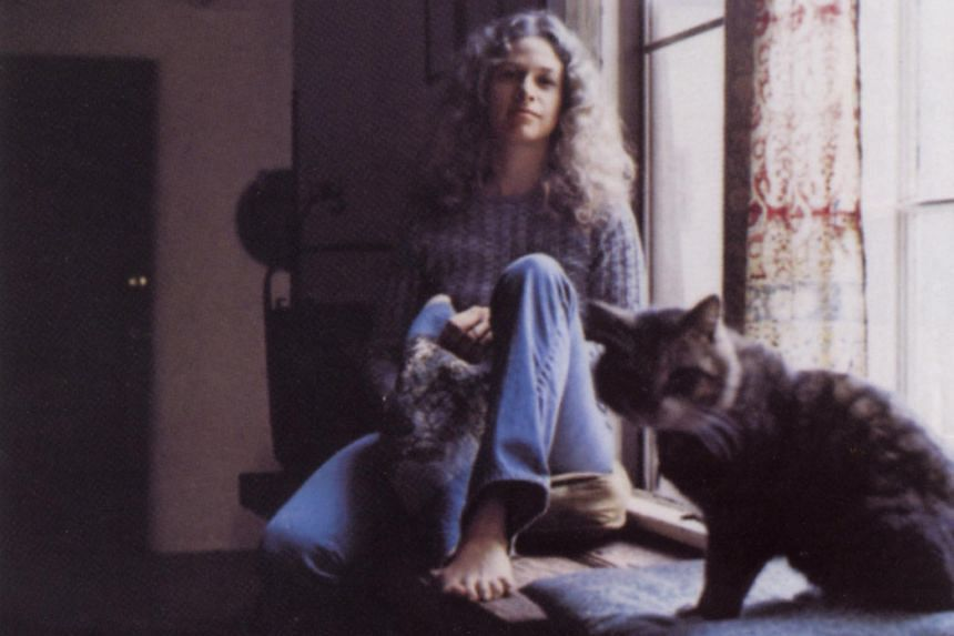 Album cover: Carole King - Tapestry.