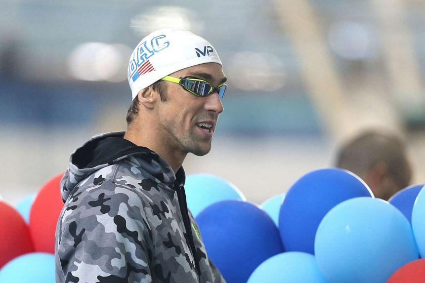 Michael Phelps is seen during day two of the Arena Pro Swim Series at the YMCA of Central Florida Aquatic Center on March 4, 2016, in Orlando, Florida.