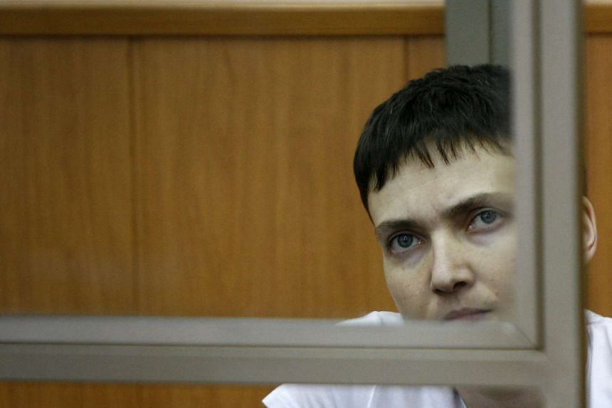 Ukraine has demanded the release of military helicopter Nadiya Savchenko, who is on trial in Russia.