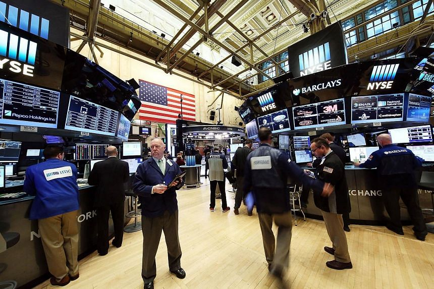 Traders working on the floor of the New York Stock Exchange on March 7, 2016.