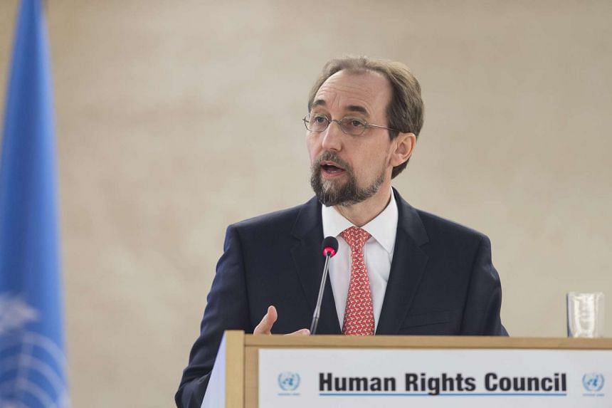Mr Zeid Ra'ad Al Hussein, High Commissioner for Human Rights, has said that the Russian government has indicated it would close hiw Moscow office.