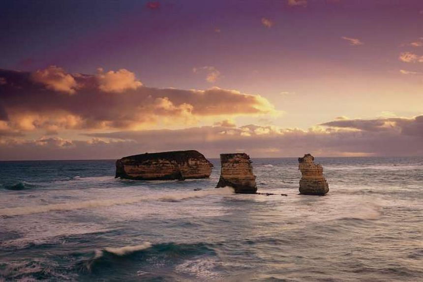 The Twelve Apostles in Melbourne, Australia.