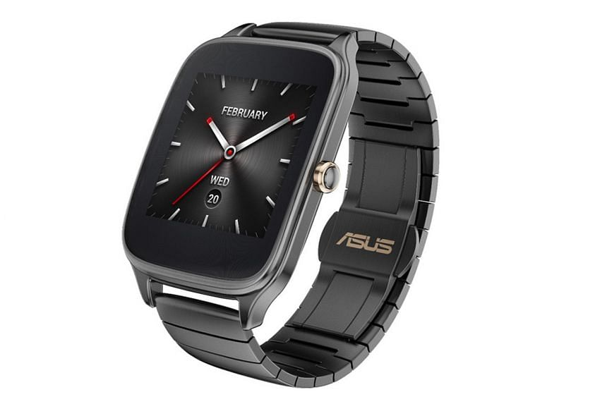 Asus ZenWatch 2 with metallic strap