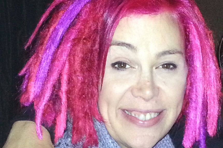Lana Wachowski (above) was Larry previously.