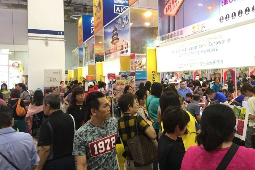Sotaa's Travel Revolution drew 82,000 visitors over three days last month, an 8 per cent increase over its April fair last year.