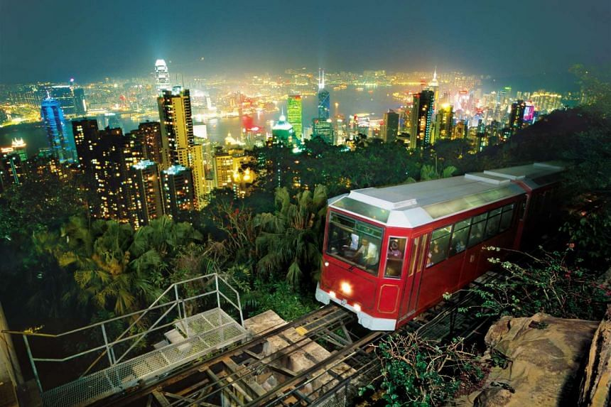 The best way to head up The Peak is to take the Peak Tram, which has been in operation since 1888, bringing visitors up slopes to the summit.