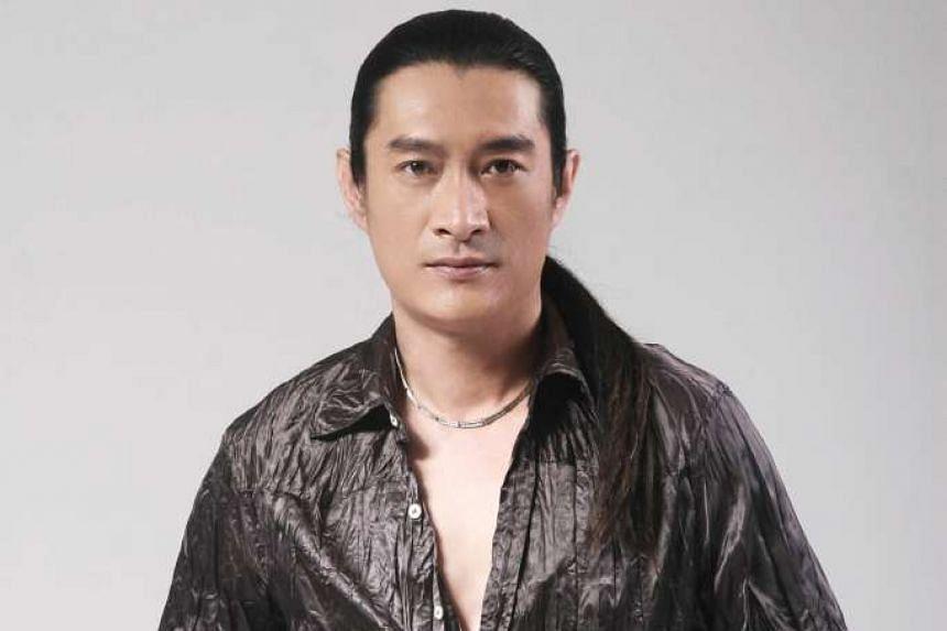 China-based Taiwanese singer Huang An.