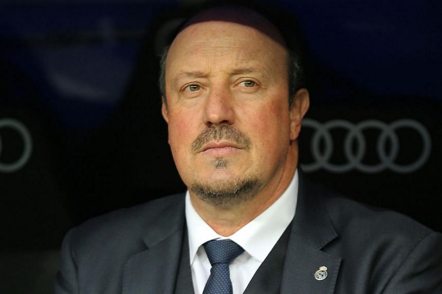 Rafa Benitez (above) has been named manager of Newcastle United after the dismissal of Steve McClaren.