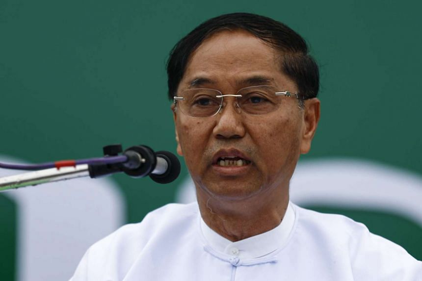 Myanmar's military has nominated retired general Myint Swe (above) as its vice presidential candidate.