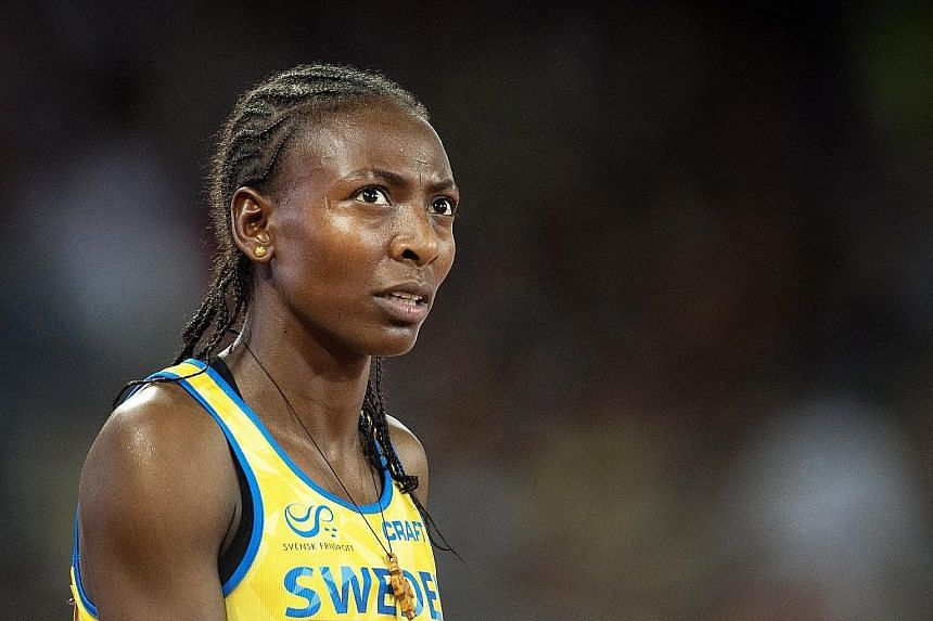 Ethiopia-born Swedish runner Abeba Aregawi risks a suspension of up to four years.