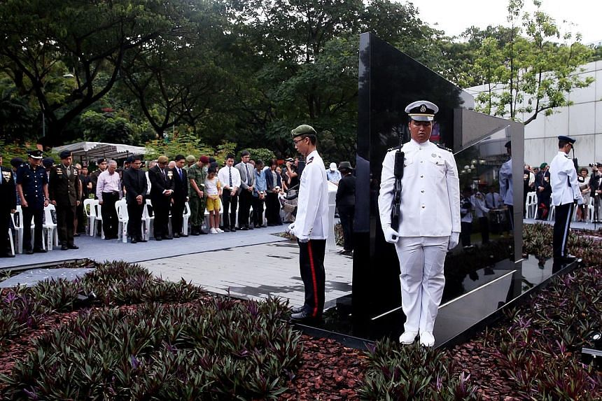 Over 150 people, including families of victims and survivors of the 1965 bombing at MacDonald House, former volunteers and Singapore Armed Forces Veterans' League members, attended yesterday's ceremony.