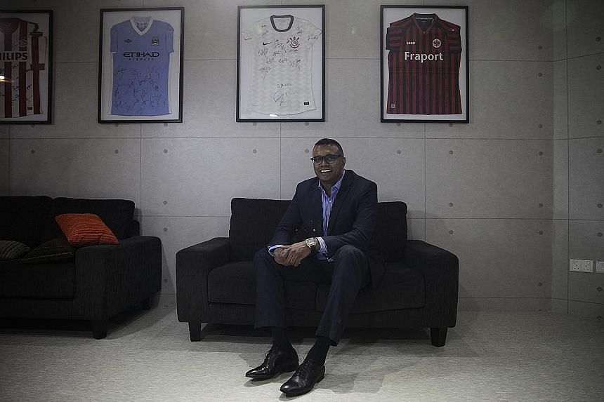 Sports marketing boss R. Sasikumar's passion for and belief in Singapore football comes across in his uncompromising assessment of the sport.