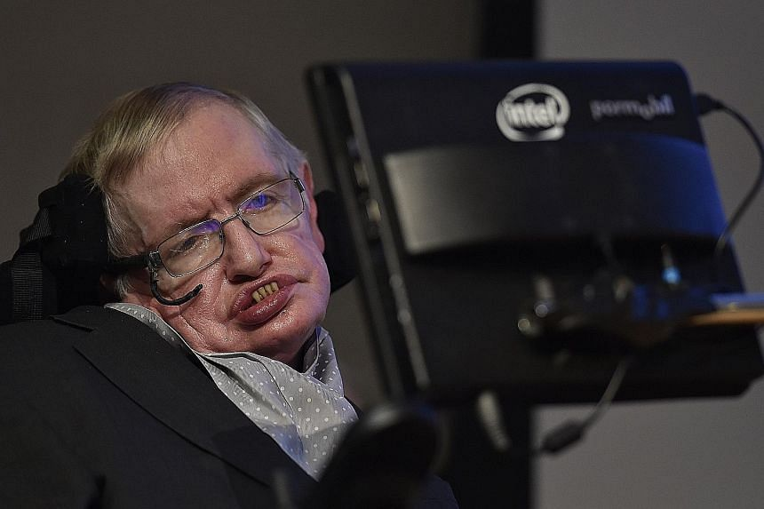 Stephen Hawking was one of 150 scientists who argued that the UK should not leave the EU.